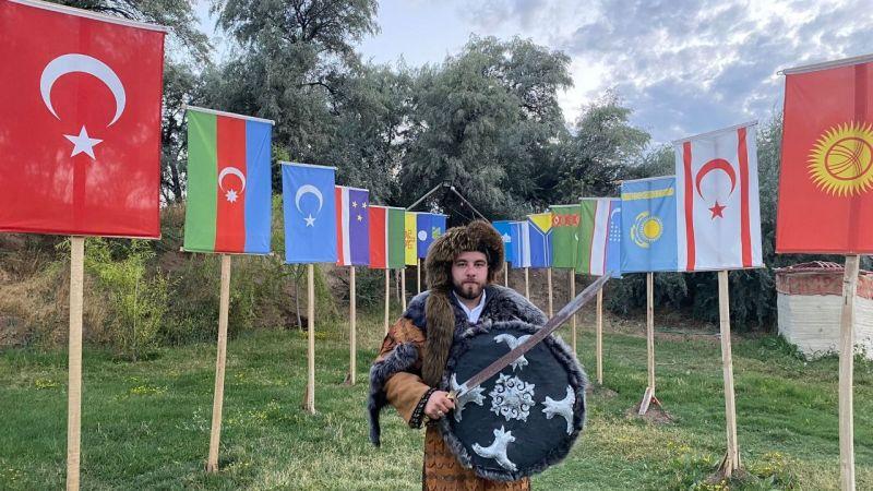 Avanos'a Kırgız Obası kuruldu