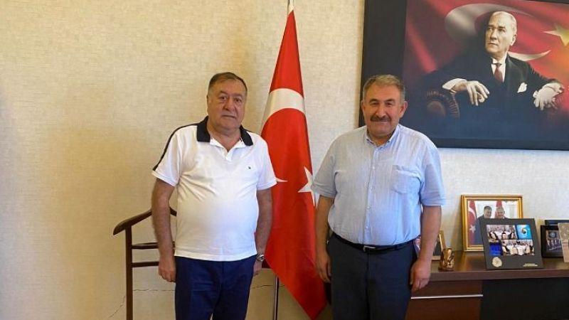 Fahri Elçi Taşdirek, Başkan Parmaksız ile görüştü