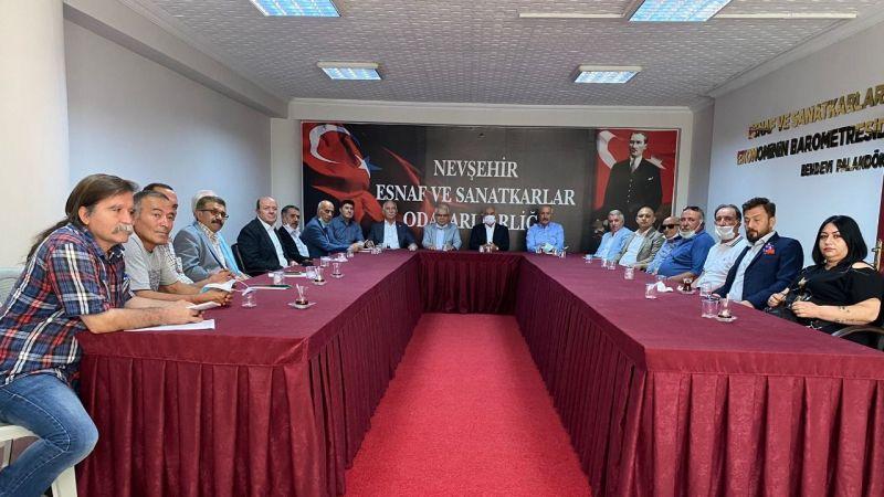 4 İlin CHP'li vekili Nevşehir'de