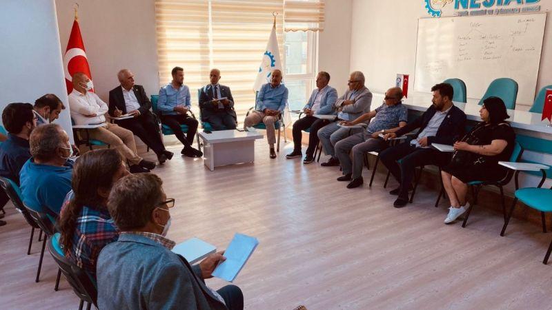 CHP heyetinden NESİAD'a ziyaret