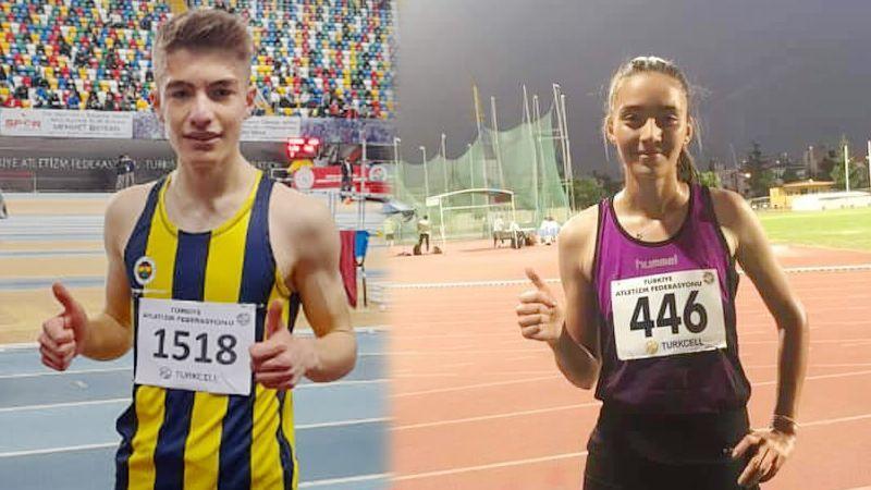 Nevşehir atletizm takımından büyük başarı