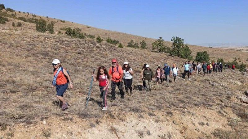 Hacıbektaş'ta doğa yürüyüşü yapıldı