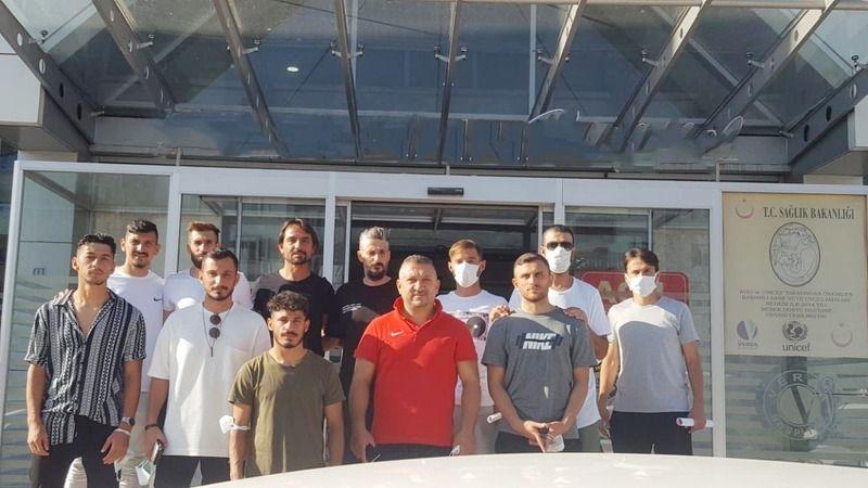Nevşehir Belediyespor yeni sezon öncesi sağlık kontrolünden geçti