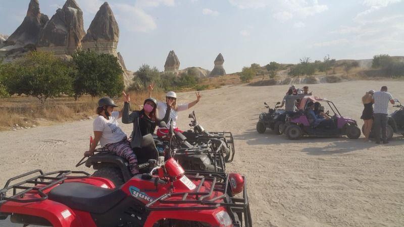 Kapadokya ATV ile keşfediliyor