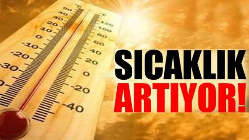 Sıcaklıklar 37 dereceye çıkacak!