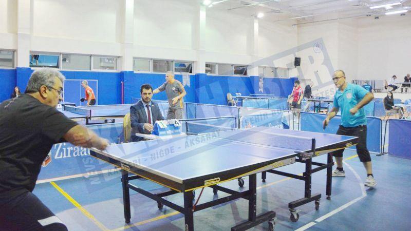 Veteranlar Masa Tenisi Turnuvası düzenlenecek