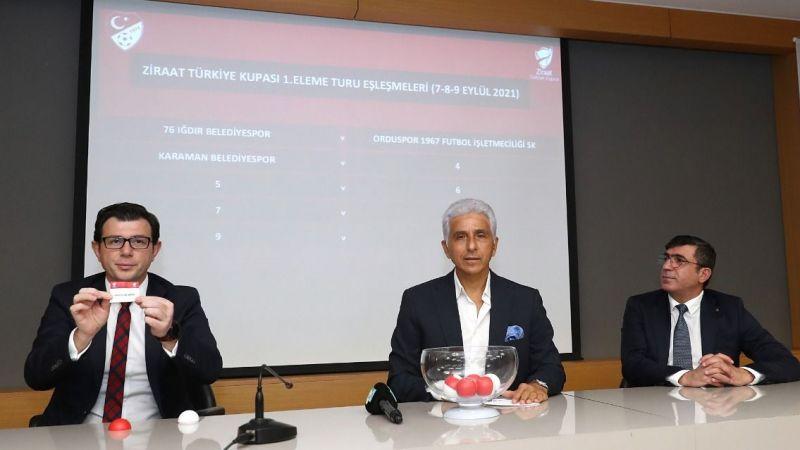 Türkiye Kupası 1. tur kura çekimi yapıldı