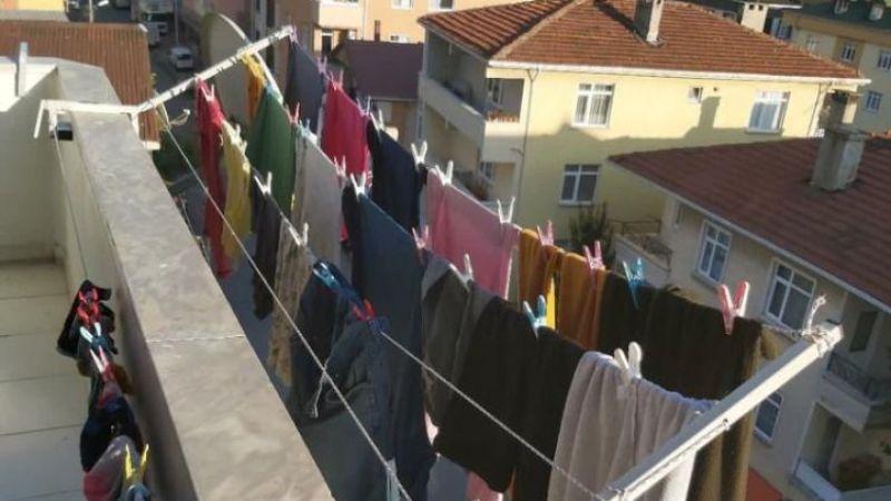 Komşular çamaşır yüzünden birbirine girdi