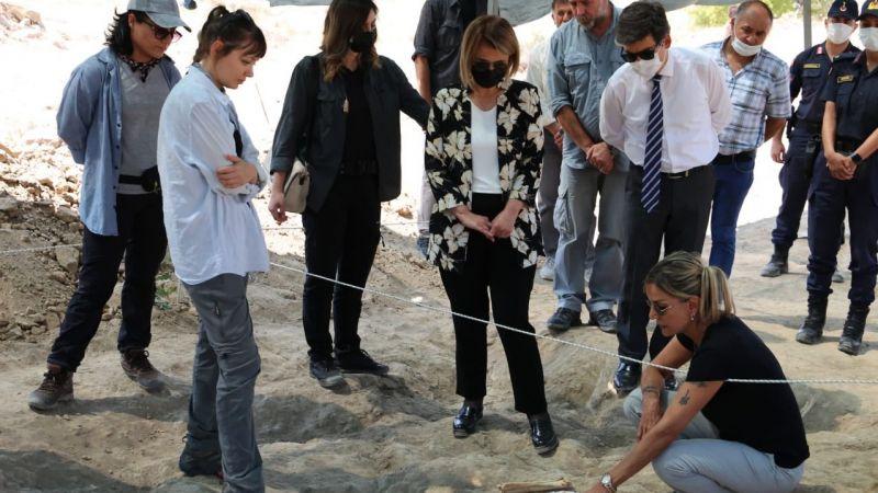 Fosil Lokaliteleri kazı alanında inceleme yapıldı
