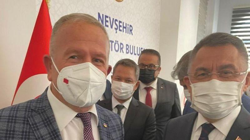 Başkan Salaş, Cumhurbaşkanı Yardımcısı Oktay ile görüştü