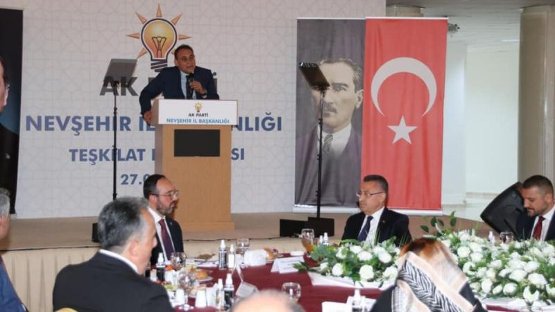 AK Parti İl Başkanlığı Teşkilat toplantısı yapıldı