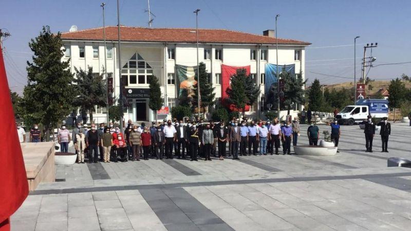 Hacıbektaş'ta 30 Ağustos etkinliği yapıldı