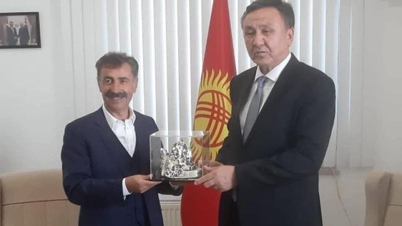 """""""Kardeş ülke Kırgızistan'a selam olsun!"""""""
