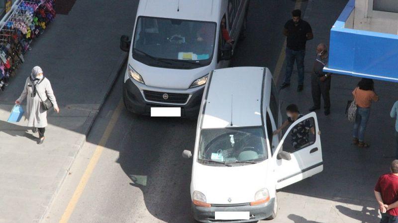 Sorumsuz sürücü trafiği birbirine kattı
