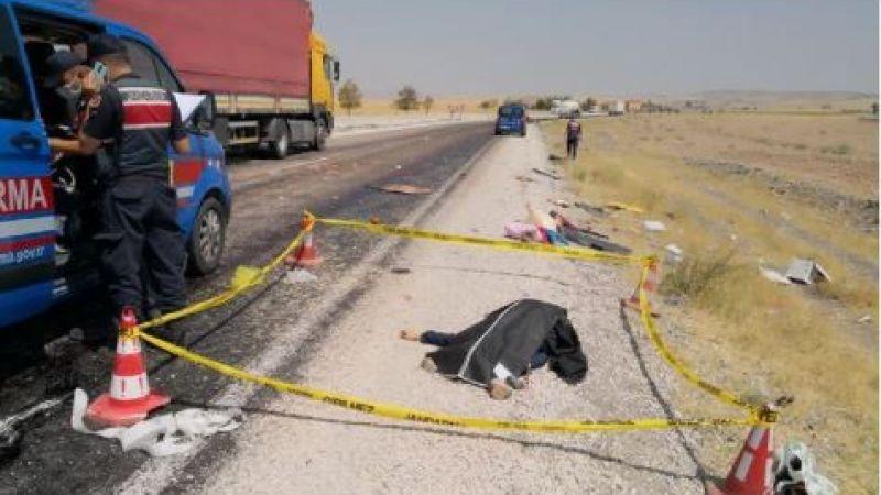 Araç takla attı: 1 ölü, 4 yaralı