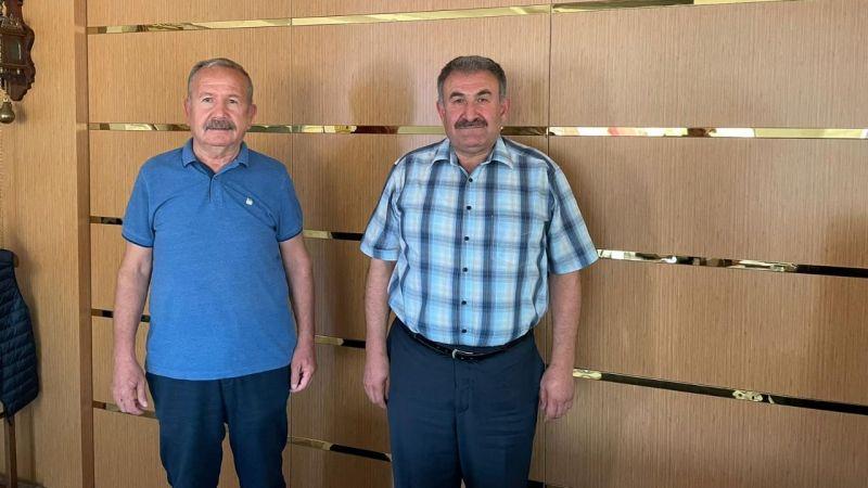 Nevşehirli İş İnsanı Taşdirek, Başkan Salaş ile görüştü