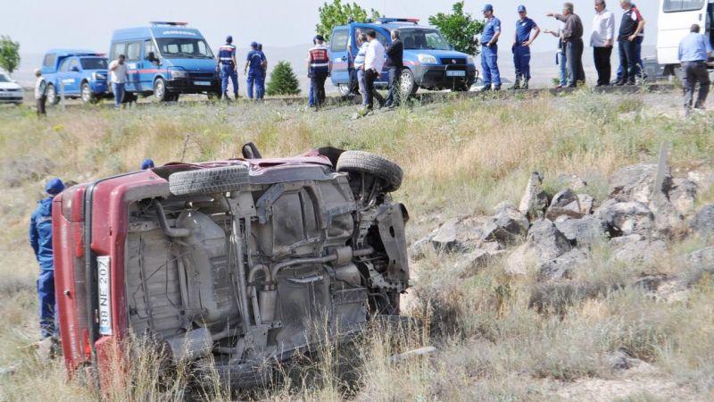 Nevşehir'de bir haftada 25 kaza oldu