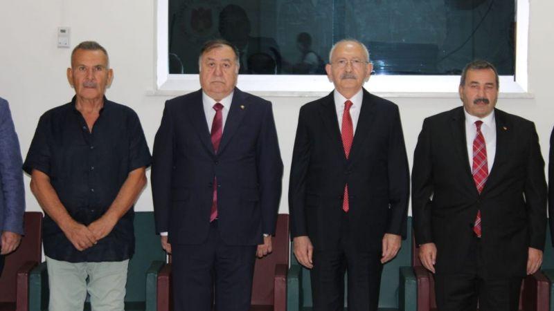 Kılıçdaroğlu Nevşehir'de iş adamlarıyla görüştü