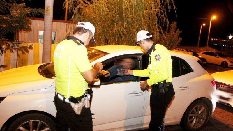 Araç sürücülerine ceza yağdı