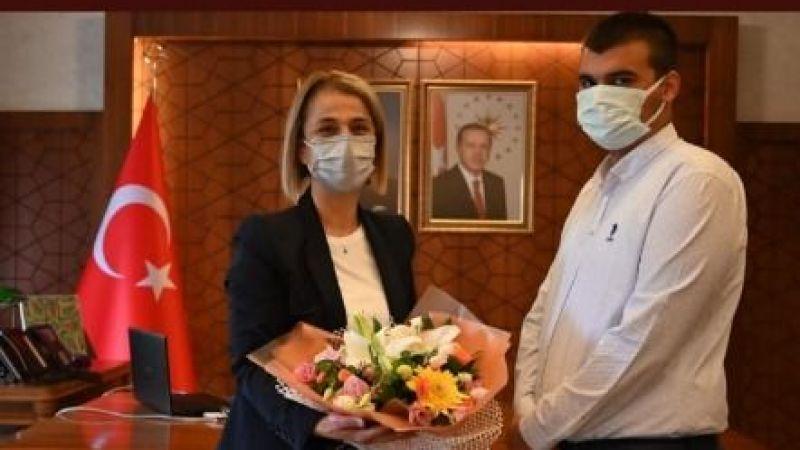 Nevşehirli genç Galatasaray Üniversitesi'ni kazandı