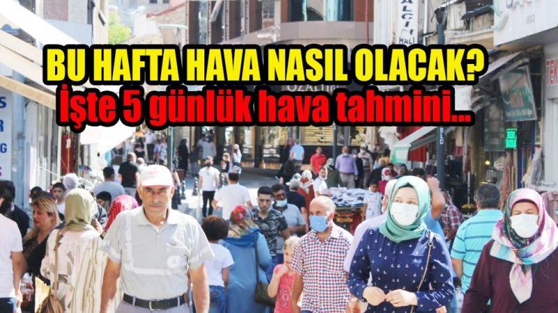 Nevşehir için 5 günlük hava durumu (Tıkla Öğren)