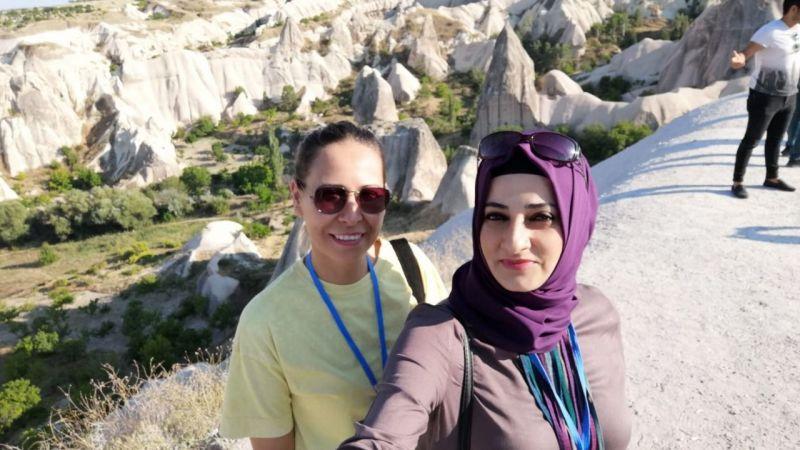 20 yıl sonra aynı sırada Kapadokya'da Buluştular