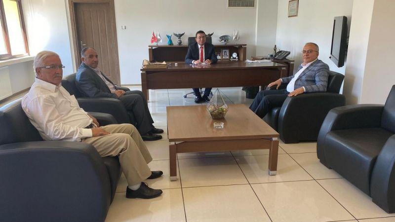 Başkan Aksoy, Medaş Genel Müdürü ile görüştü