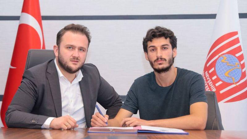 Nevşehir Belediyespor genç stoperi kadrosuna kattı