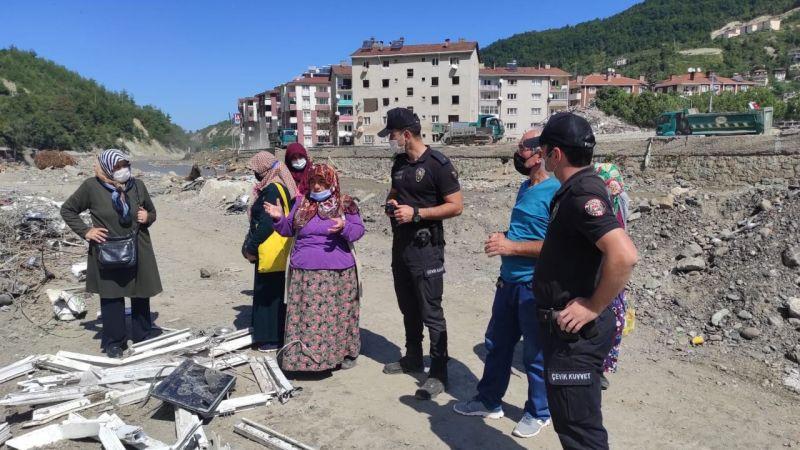 Nevşehir Çevik Kuvvet ekipleri yardıma koştu