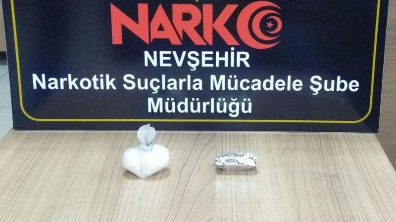 Nevşehir'de 2 uyuşturucu taciri yakalandı