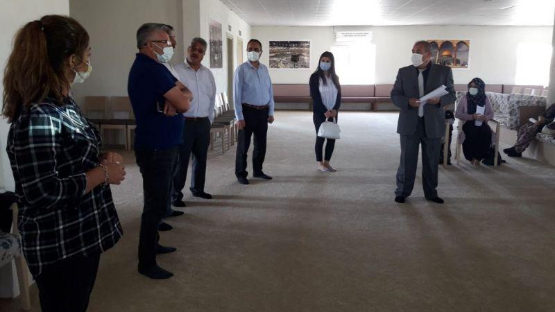 Sulusaray'da çilek yetiştirme kursu açıldı