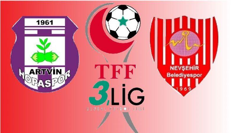 Nevşehir Belediyespor, deplasmanda 10 kişi ile kazandı