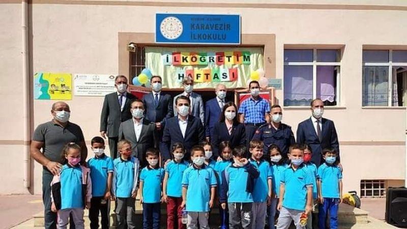 Gülşehir'de İlköğretim Haftası programı yapıldı