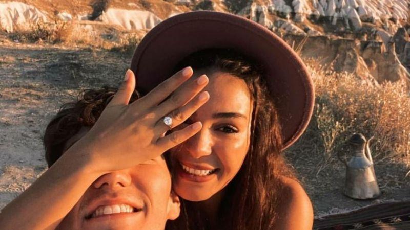 Ünlü oyuncuya Kapadokya'da evlilik teklifi