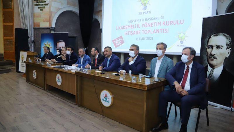 AK Parti Genel Başkan Yardımcısı Kandemir, Nevşehir'de
