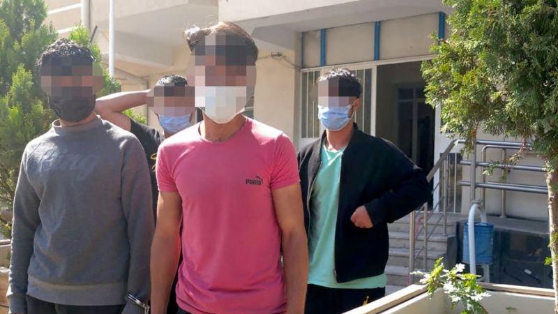 Afgan uyruklu 4 şahıs sınır dışı edildi