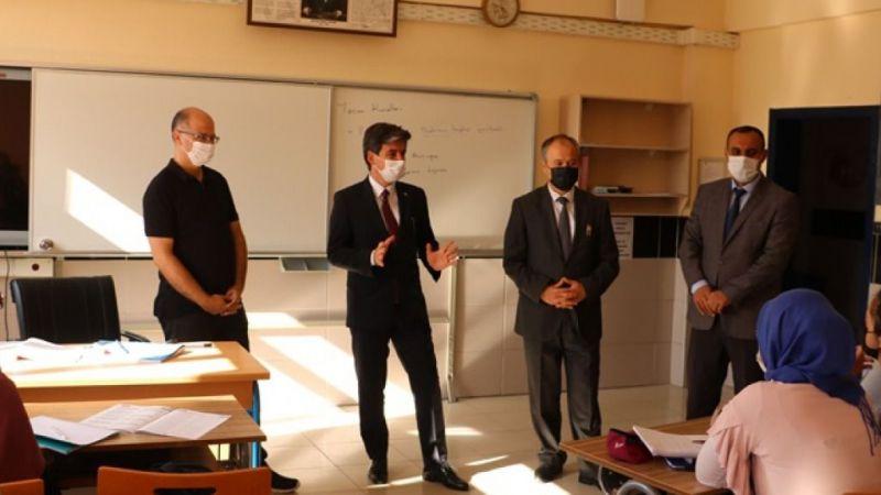 Ürgüp Kaymakamı okulları ziyarete çıktı