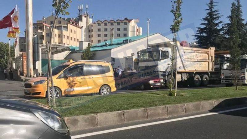 Nevşehir'de korkutan kaza!