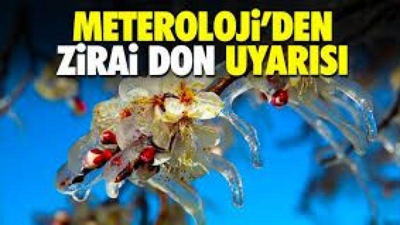 Nevşehir için zirai don uyarısı!