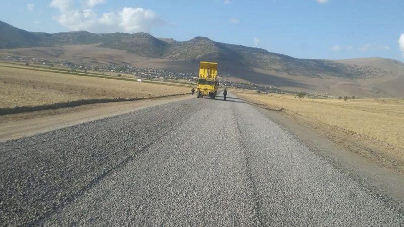 Bu köylerde asfaltlama yapılıyor!