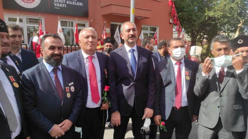 Başkan Çiftçi ve yönetimi Bakan Gül ile görüştü
