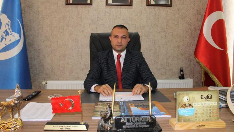 Başkan Türker, Ürgüp yoluna değindi