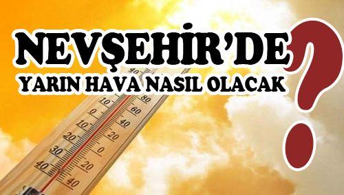 Nevşehir'de kış kapıya dayandı!