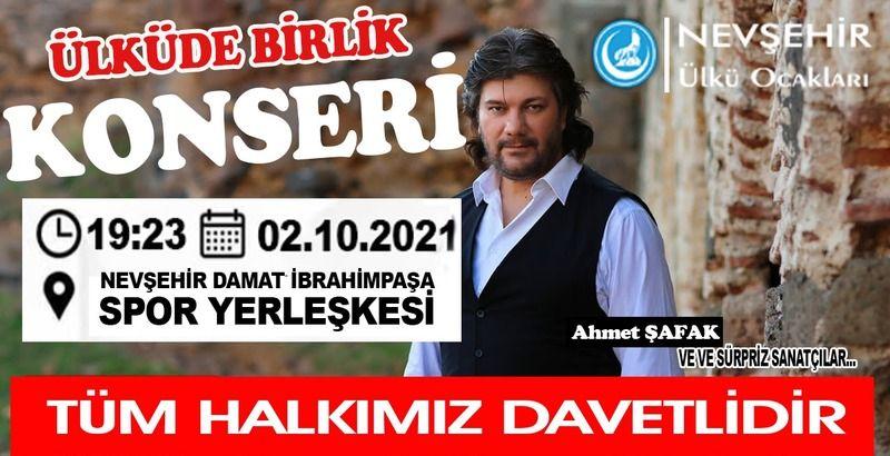 Nevşehir'de 2 Ekim günü yer yerinden oynayacak