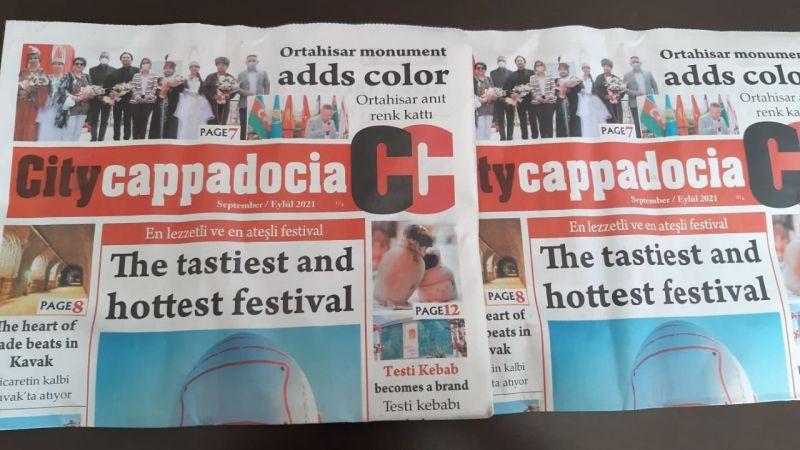 City Cappadocia'nın yeni sayısı çıktı!