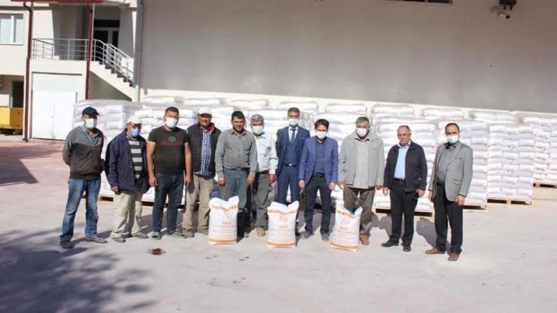 Nevşehir'de yerli buğday tohumu dağıtıldı