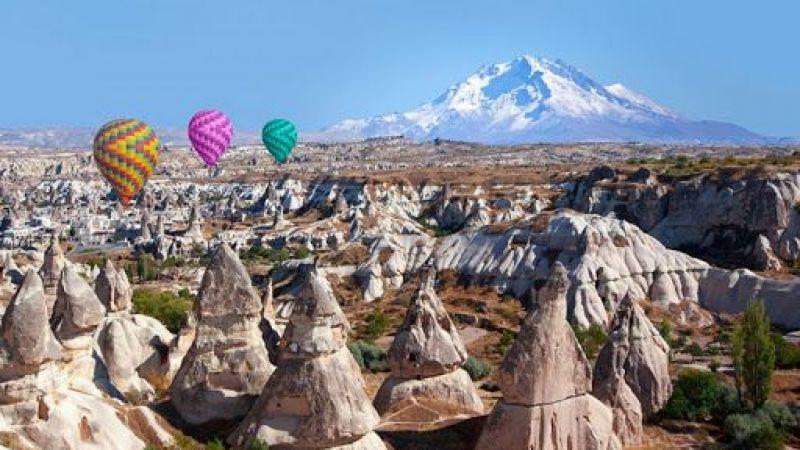 Kapadokya'ya gelen turistler Erciyes'e çekilecek