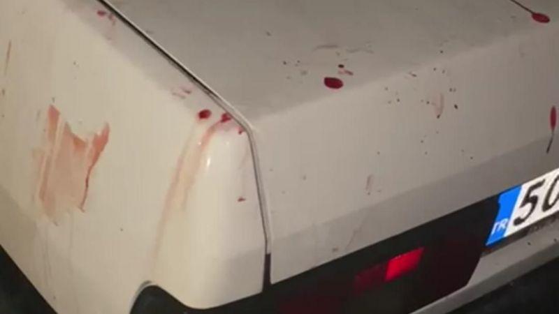 Terminalde tüfekler çekildi: 2 yaralı var
