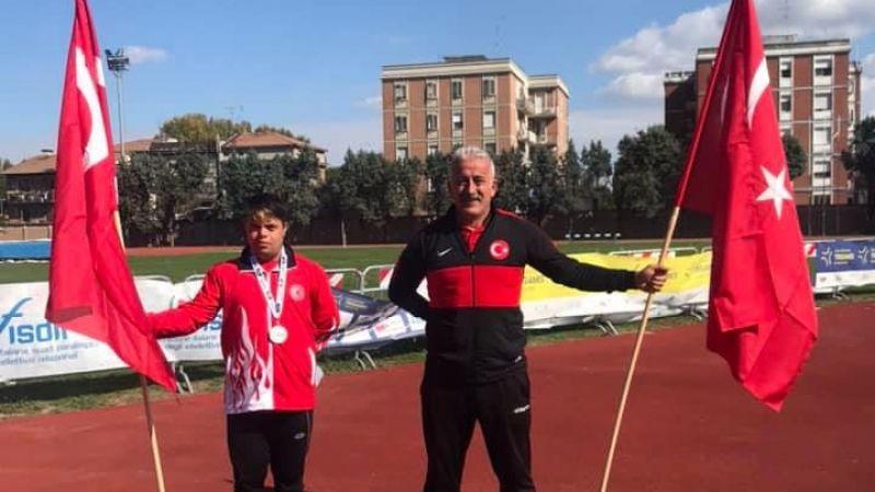 Nevşehirli sporcudan Avrupa Şampiyonasında çifte madalya