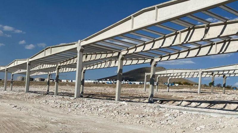 Sanayi sitesi inşaatı devam ediyor